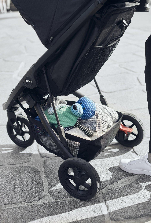 Wózek spacerowy Thule Spring Aluminium Grey Melange
