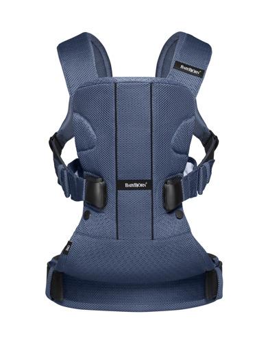 BABYBJORN ONE AIR - nosidełko ergonomiczne, ciemnoniebieski