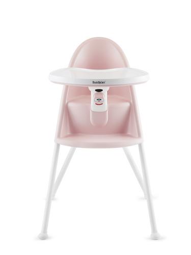 BABYBJORN - krzesełko do karmienia, różowe