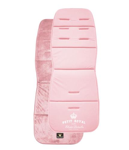 Elodie Details - Miękka wkładka do wózka Petit Royal Pink