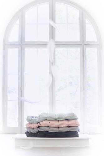 Elodie Details - Puchowy śpiworek do wózka, zielony