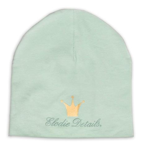 Elodie Details - czapka Dusty Green, 12-24 m-ce