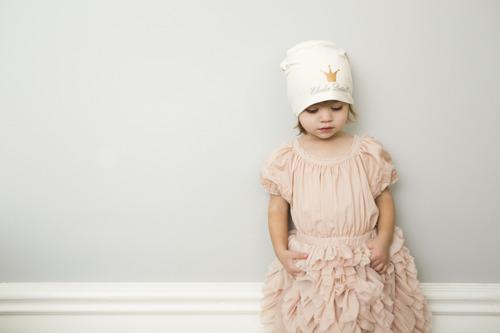Elodie Details - czapka Vanilla White, 6-12 m-cy