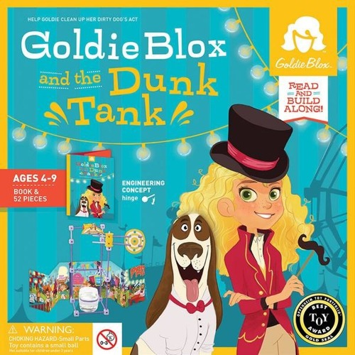 GoldieBlox - Skoki do wody
