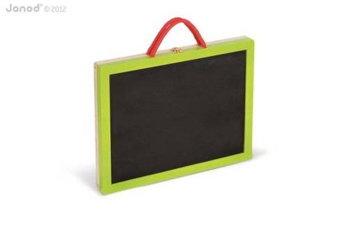 Janod - Magnetyczna walizeczka tablica 4w1