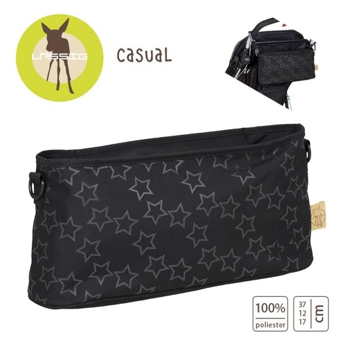 Lassig - Casual Label Organizer do Wózka Reflective Star black
