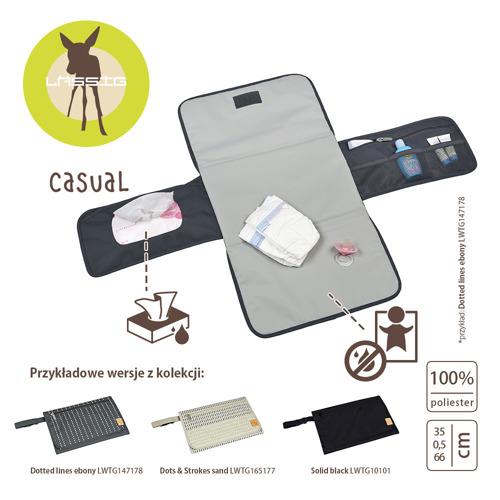 Lassig - Casual Label Zestaw do Przewijania Dotted lines ebony