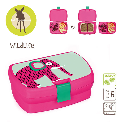 Lassig - Lunchbox Wildlife Słoń