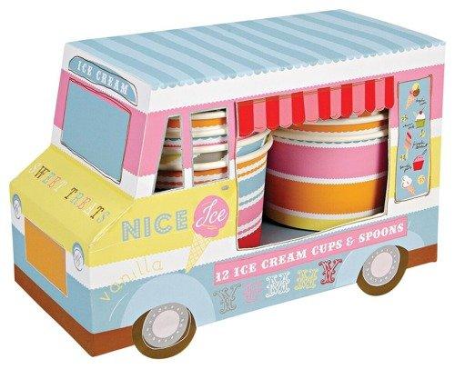 Meri Meri – Mini lodziarnia z zestawem kubeczków i patyczków do lodów