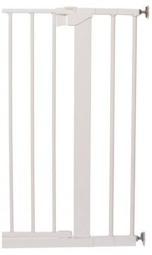 Rozszerzenie bramki Baby Dan PREMIER/SLIMFIT   14 cm, biały
