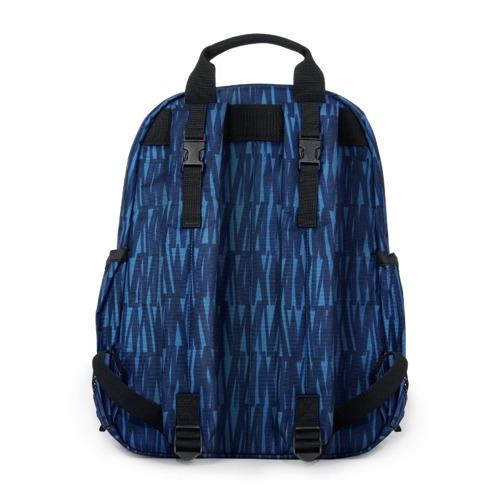 Skip Hop - Plecak Duo Signature Graffiti Blue