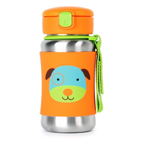 Skip Hop - Stalowy bidon Pies Zoo