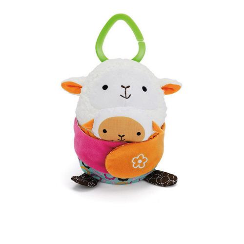 Skip Hop - Zabawka do wózka Hug and Hide Owca
