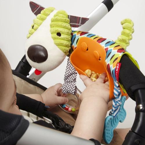 Skip Hop - Zabawka do wózka Piesek 2w1