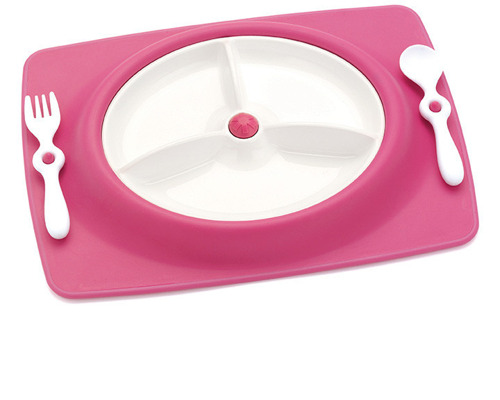Skip Hop - Zestaw do jedzenia Mate Pink