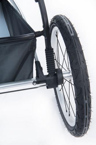 THULE Glide Dark Shadow wózek do biegania + gondola