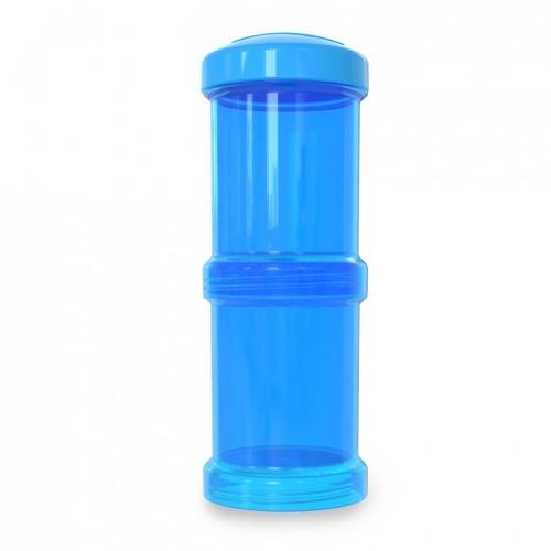 Twistshake - Pojemnik 2x100ml Niebieski