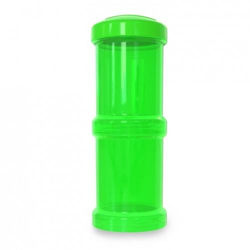 Twistshake - Pojemnik 2x100ml Zielony