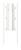 Baby Dan - Uchwyt montażowy do ściany do bramek FLEX M, L, XL, XXL, biały