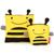 Skip Hop - Saszetki na przekąski Pszczoła